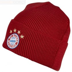 Czapka adidas FC Bayern Woolie FS0192 czerwony OSFL