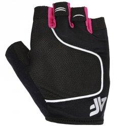 Rękawiczki kolarskie 4F H4L21-RRU061 55S różowy M