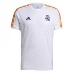 Koszulka adidas Real Madryt 3 Stripes T-Shirt GR4245 M biały