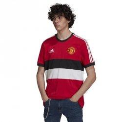 Koszulka adidas Manchester United 3- Stripes Tee GR3895 czerwony XL