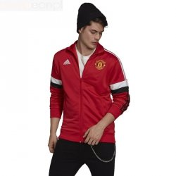 Bluza adidas Manchester United 3-Stripes Track Top GR3887 czerwony L