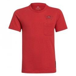 Koszulka adidas Manchester United Kids Tee GR3881 czerwony 140 cm