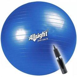 Piłka gimnastyczna 65 cm Allright 166-180 cm Ø