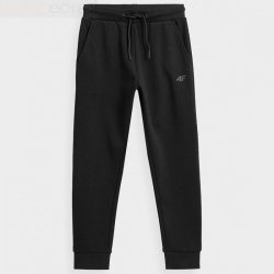 Spodnie 4F HJZ21-JSPMD001 20S czarny 134 cm