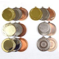 Medal duży 7 cm na wklejkę 50 mm bardzo duży złoty /srebrny /brązowy