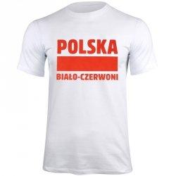 Koszulka Polska Biało-Czerwoni biały S337909 biały L