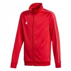 Bluza adidas CORE 18 PES JKTY CV3579 czerwony 116 cm