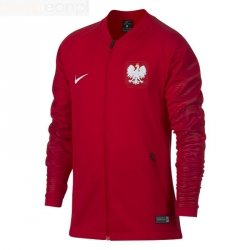 Bluza Nike Poland POL Y NK SQD JKT Anthem 893848 611 czerwony L (147-158cm)