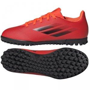 Buty adidas X Speedflow.4 TF J FY3327 czerwony 37 1/3