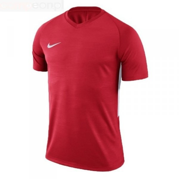 Koszulka Nike Y Tiempo Premier JSY SS 894111 657 czerwony S (128-137cm)