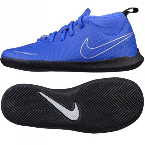 Buty Nike JR Phantom VSN Club DF IC AO3293 400 niebieski 28