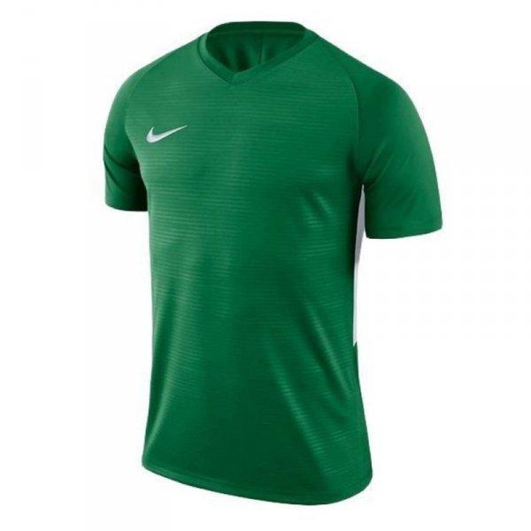 Koszulka Nike NK Dry Tiempo Prem JSY SS 894230 302 zielony L