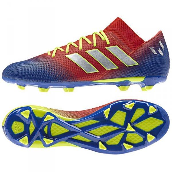 Buty adidas Nemeziz Messi 18.3 FG BC0316 niebieski 40