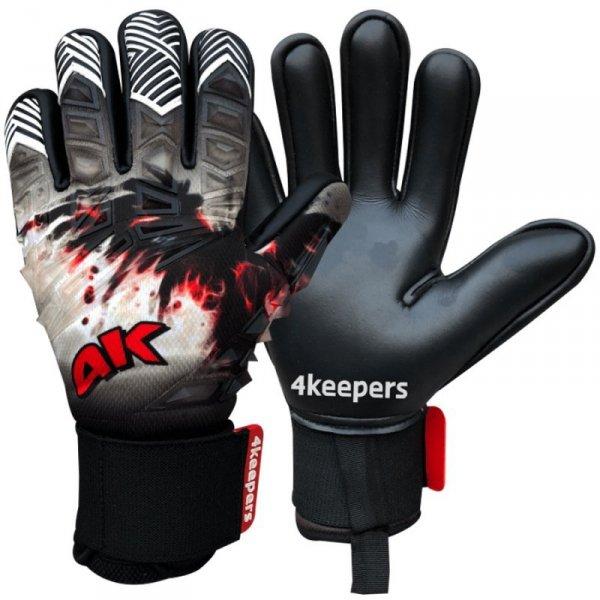 Rękawice 4keepers Evo Marte Negative Cut 8 + płyn czyszczący S558734 czarny 10,5