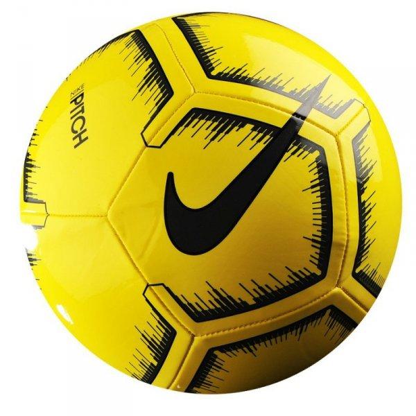 Piłka Nike Pitch SC3316 731 żółty 4