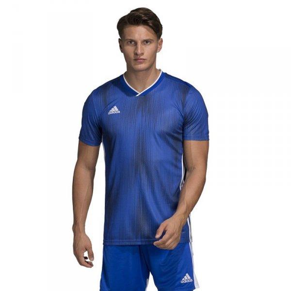 Koszulka adidas Tiro 19 JSY DP3532 niebieski 128 cm