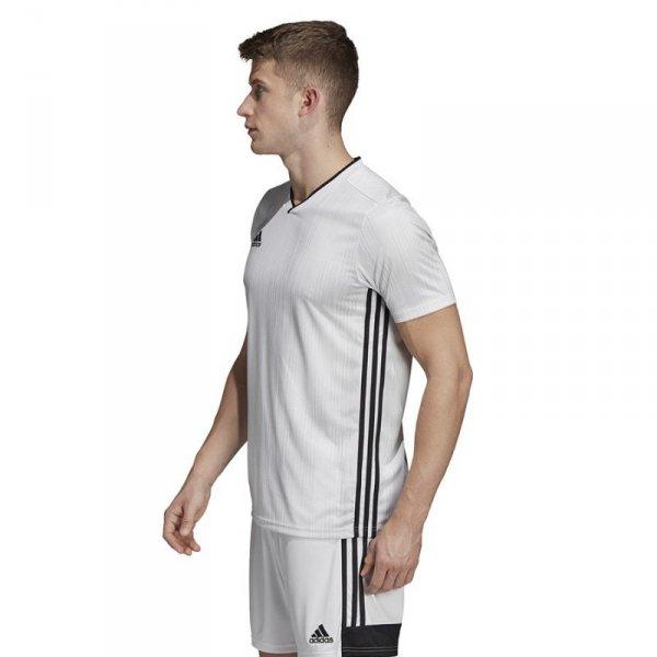 Koszulka adidas Tiro 19 JSY DP3537 biały 152 cm