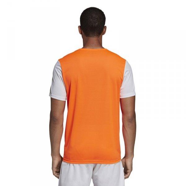 Koszulka adidas Estro 19 JSY Y DP3236 pomarańczowy 116 cm