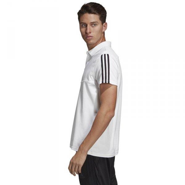 Koszulka adidas Polo TIRO 19 DU0870 biały S