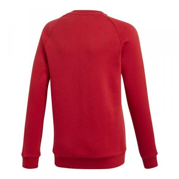 Bluza adidas CORE 18 SW Top Y CV3970 czerwony 140 cm