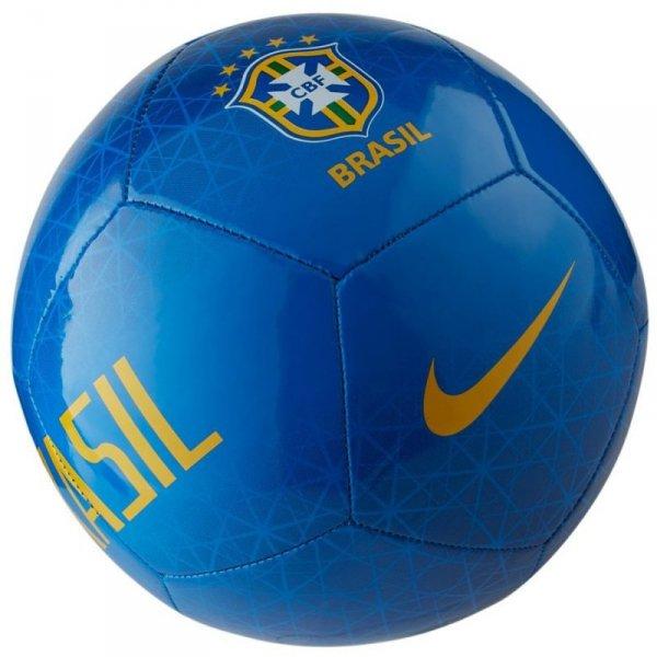 Piłka Nike Brasil CBF Pitch SC3930 453 niebieski 5