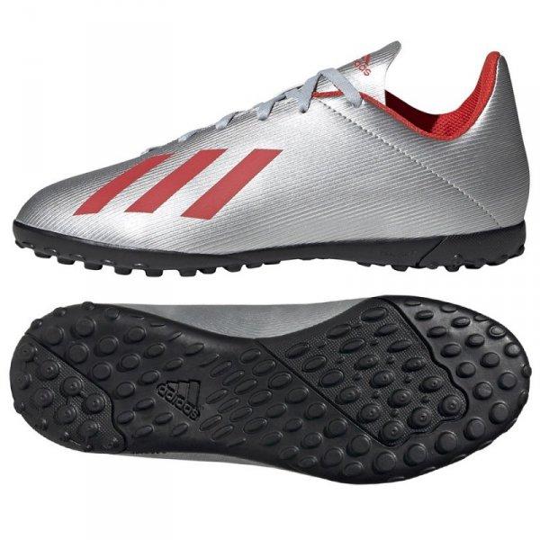 Buty adidas X 19.4 TF J F35348 szary 38 2/3