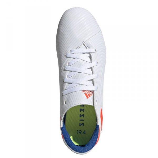 Buty adidas Nemeziz Messi 19.4 J FxG F99931 biały 36