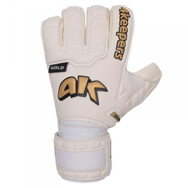 Rękawice 4keepers Champ  Gold IV RF + płyn czyszczący biały 9