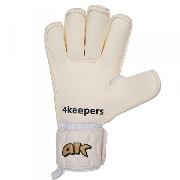 Rękawice 4keepers Champ  Gold IV RF + płyn czyszczący biały 9,5