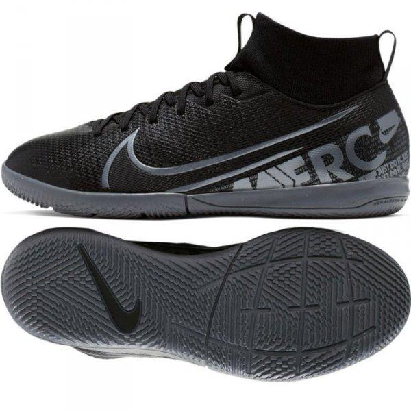 Buty Nike JR Mercurial Superfly 7 Academy IC AT8135 001 czarny 36