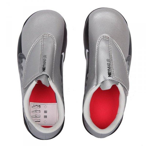Buty Nike JR Mercurial Vapor 13 Club MG Neymar AT8164 006 szary 28 1/2