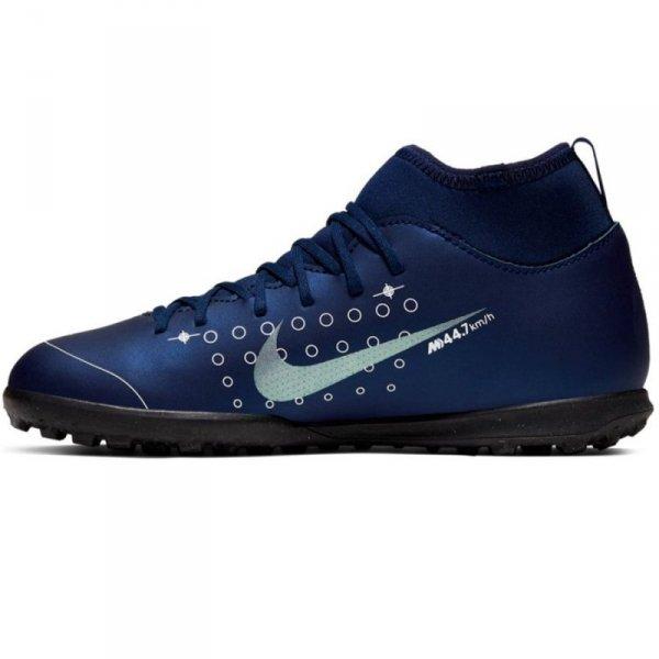 Buty Nike JR Mercurial Superfly 7 Club MDS TF BQ5416 401 niebieski 38 1/2