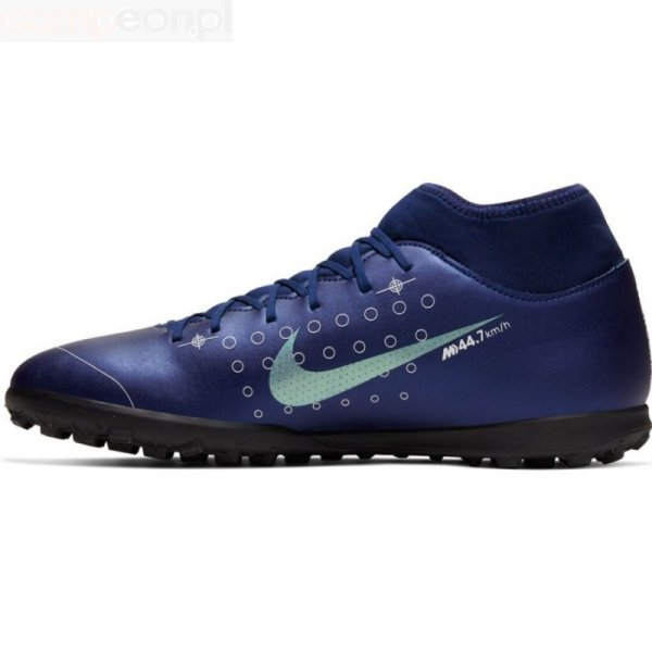Buty Nike Mercurial Superfly 7 Club MDS TF BQ5437 401 niebieski 42