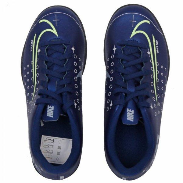 Buty Nike JR Mercurial Vapor 13 Club MDS IC CJ1174 401 niebieski 32