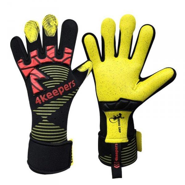 Rękawice 4keepers Gecko Pardus MNC + płyn czyszczący czarny 8,5