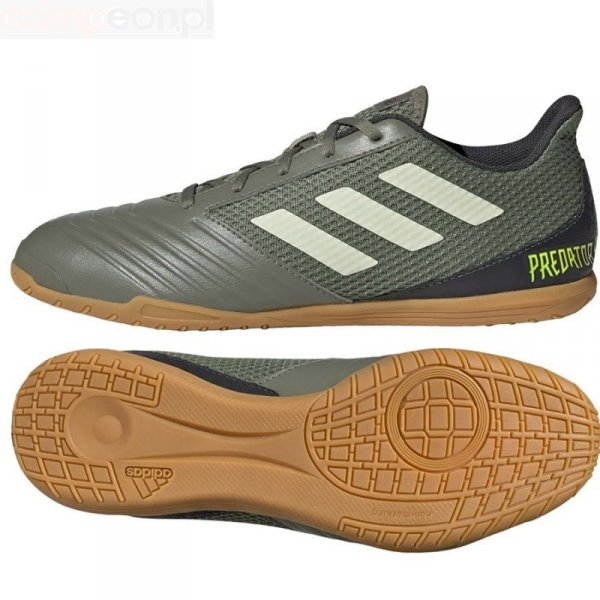 Buty adidas Predator 19.4 IN Sala EF8216 zielony 42 2/3