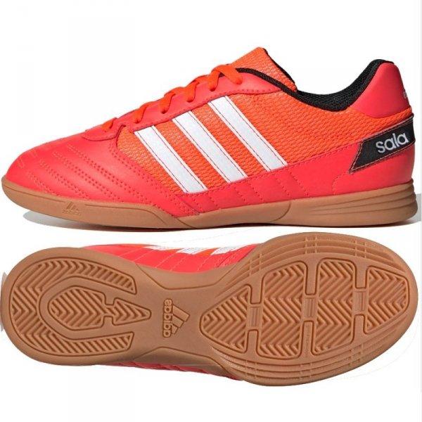 Buty adidas Super Sala J FV2639 czerwony 32