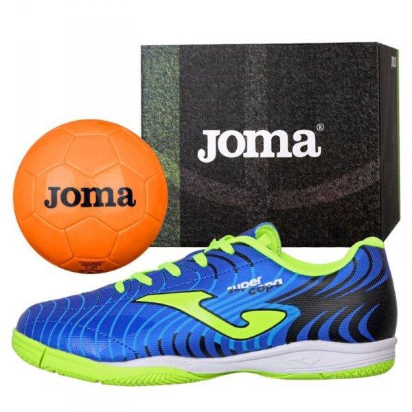 Buty Joma Super Copa JR 2004 IN SCJS.2004.IN + Piłka Gratis niebieski 30