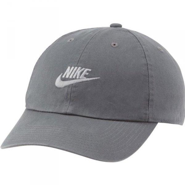Czapka Nike U NSW H86 Cap Futura 913011 069 szary one size
