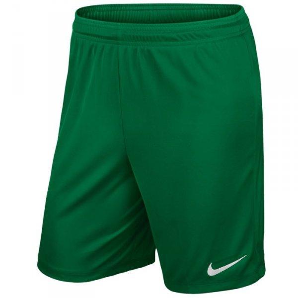 Spodenki Nike Park II Knit 725887 302 zielony S