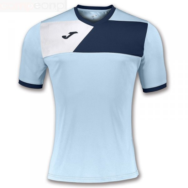 Koszulka Joma Crew II 100611.353 niebieski 152 cm