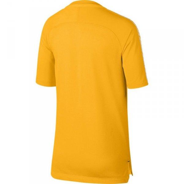 Koszulka Nike B BRT Squad Top SS Junior 859877 845 pomarańczowy M (137-147cm)