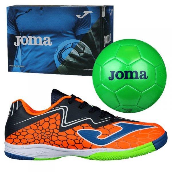 Buty Joma Super Copa JR IN SCJS.808.IN + Piłka Gratis pomarańczowy 29