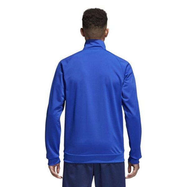 Bluza adidas CORE 18 PES JKT CV3564 niebieski L