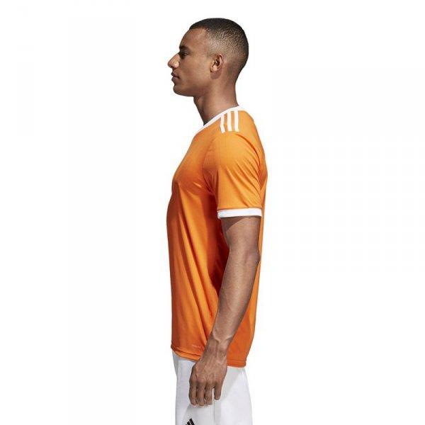 Koszulka adidas Tabela 18 JSY CE8942 pomarańczowy L
