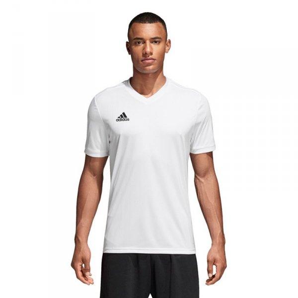 Koszulka adidas Tabela 18 JSY CE8938 biały 140 cm