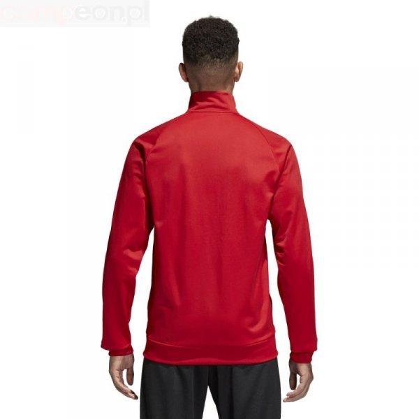 Bluza adidas CORE 18 PES JKT CV3565 czerwony L