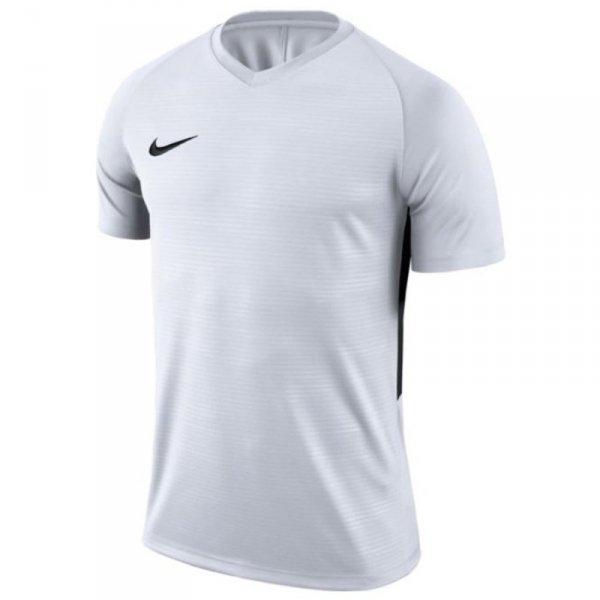 Koszulka Nike Y Tiempo Premier JSY SS 894111 100 biały M (137-147cm)