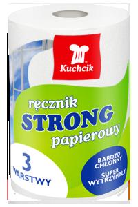 KUCHCIK RĘCZNIK PAPIEROWY STRONG 3W