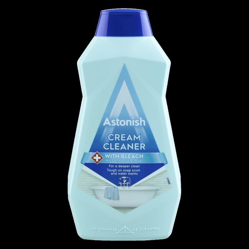 ASTONISH CREAM CLEANER WHIT BLEACH 500ml